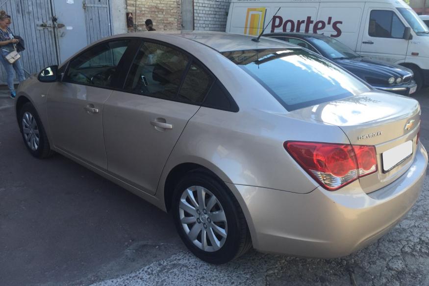 Прокат машины Chevrolet Cruze Киев