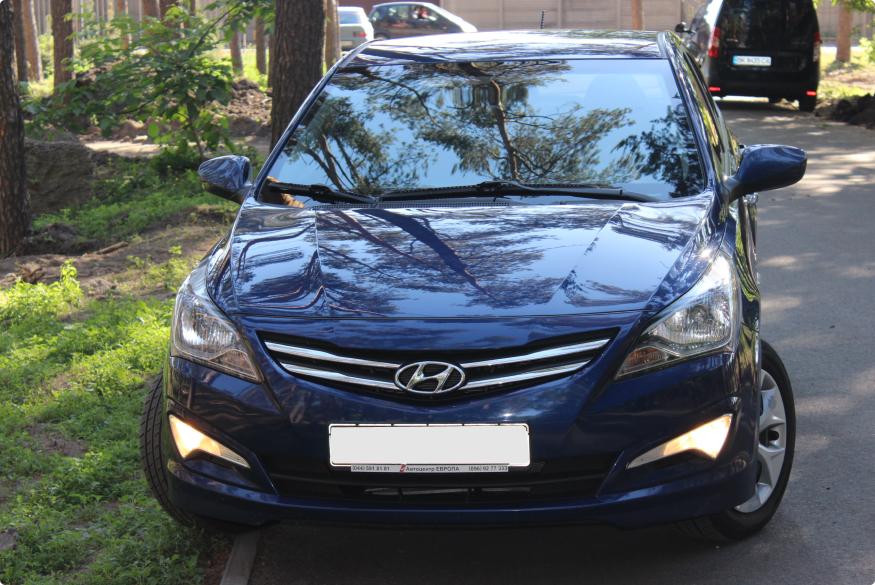 Прокат машины Hyundai Accent Киев