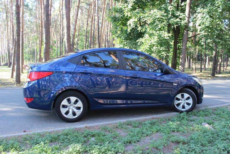 Прокат авто Hyundai Accent Киев, недорого